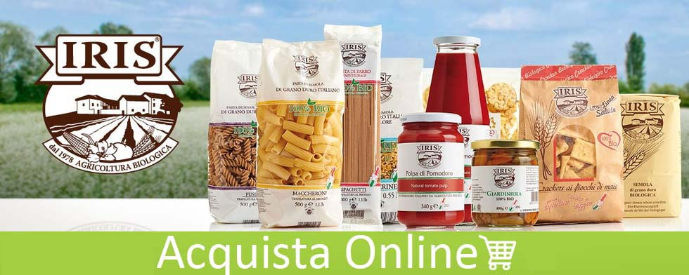 acquista pasta biologica